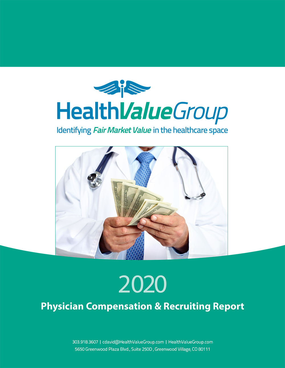 Health Value Group Physician Compensation Report 2020